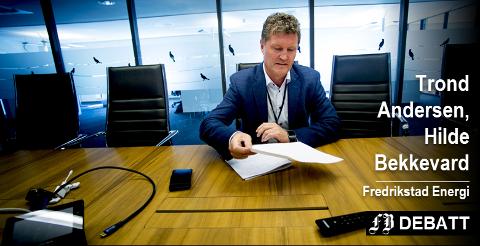 Konsernsjef Trond Andersen (bildet) og tidligere HR-leder Hilde Bekkevard stiller seg fullt ut bak pensjonsordningen og prosessen bak.
