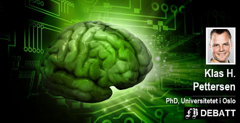 – Naturen har brukt millioner av år på å utvikle menneskelig intelligens, mens kunstig intelligens har kommet ekstremt langt på noen få tiår, skriver Klas Pettersen.