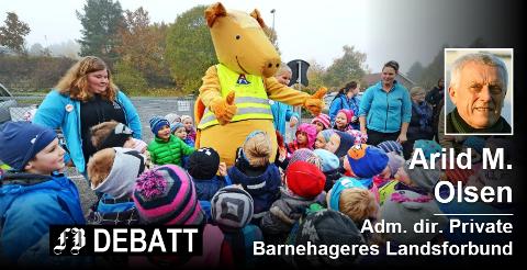 Arkivbilde fra Trollklubben barnehage. Foto: Geir A. Carlsson