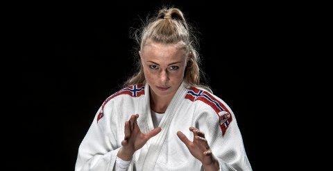 KLAR TIL DYST: Torsdag skal Fredrikstads judostjerne Madelene Rubinstein vise seg frem på matta i Israel.