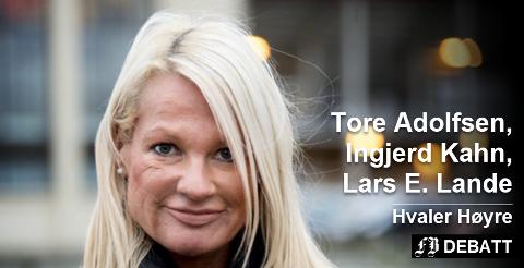– Hun har også et utstrakt nettverk til næringsaktører og til Høyre sentralt; statsråder, stortingsrepresentanter og statsminister, skriver de tre som i dag sitter i Hvaler kommunestyre for Høyre om sin nye ordførerkandidat og partileder, Marita Wennevold Hollen. Arkivfoto: Erik Hagen