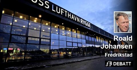 – «Moss» bør ut av lufthavn-navnet, mener Roald Johansen, og mener «den lille verdensbyen»s navn i stedet bør inn ved en nyåpning. Arkivfoto: Geir A. Carlsson