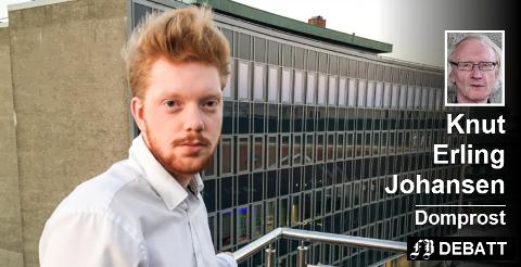 Christian Saarheim fortalte i Fredriksstad Blad at han aldri har vært invitert på en fest med jevnaldrene, og savner mennesker å være sammen med.  Foto: Jan Erik Skau