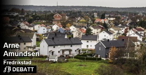 Arne Amundsen etterlyser svar på hvorfor Frp-styrte kommuner krever inn eiendomsskatt når partiet også har finansministeren. Arkivfoto: Geir A. Carlsson