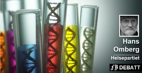 Hans Omberg ser for seg at DNA-analyser og reparasjon av gener om ikke veldig lenge kan gi et langt og sykdomsfritt liv både for kronikere og mennesker med en sykdom som ikke er oppdaget. Foto: Colourbox
