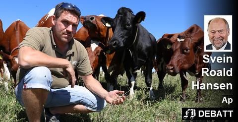 Per Erik Tofteberg, bonde og leder for Råde Bondelag, er blant bøndene som i sommer har slitt med å skaffe god nok avling til husdyra. Han fortalte om det i reportasje i FB tidligere i sommer.