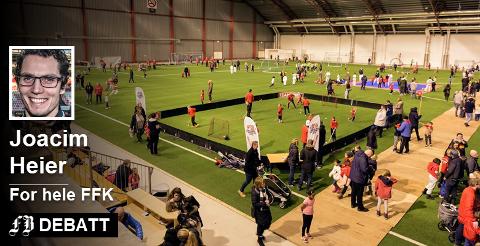 a1b3bfc4 Flere muligheter: Joacim Heier skriver at det ikke er problem å gjøre  butikk på fotball