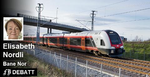 – Hvis vi ikke har flere plasser for å parkere togene, får vi ikke satt flere tog i trafikk, skriver prosjektleder Elisabeth Nordli, og forklarer at området i Dikeveien er et av de mest aktuelle slik parkering.