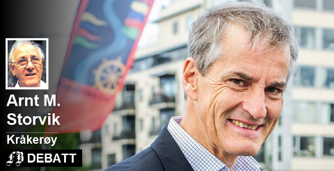 Jonas Gahr Støre anklages for ikke å følge spillereglene i vårt politiske system og støtte sivil ulydighet.