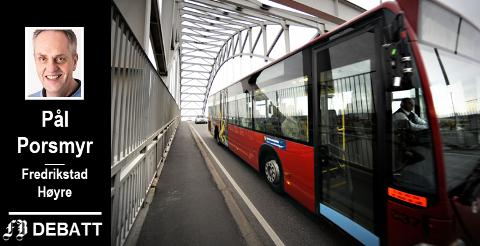 –  Jeg tviler på at så mange flere enn i dag vil benytte bussen etter gratisperiodens slutt, skriver Porsmyr.