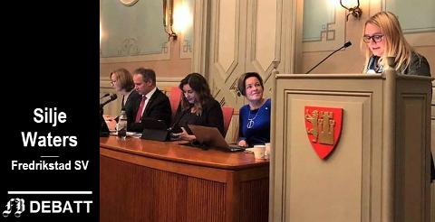 Silje Waters har allerede hatt sin debut på bystyrets talerstol. I denne kronikken forteller hun at hun først og fremst vil forvalte mandatet fra dem som har stemt henne inn, men også lytte til dem hun er uenig med.