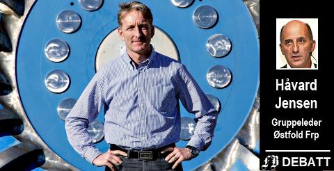 Oddmund Kroken er administrerende direktør i Østfold Energi. Nå blåser det opp til politisk drakamp om pengene selskapet tjener.
