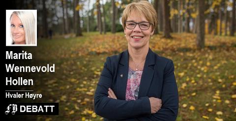 Rådmann Unni Skaar i Sarpsborg er bedt om å være setterådmann og undersøke varslingssaken til Elisabeth Håbu i Hvaler kommune. Det mener Marita Wennevold Hollen i Hvaler Høyre er en dårlig løsning.