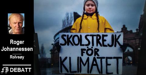 Greta Thunberg, initiativtaker til skoleelevers protester.