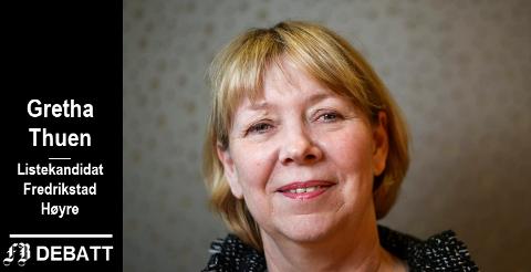 Gretha Thuen: – En blanding av seriøse private og offentlige tilbydere vil å løfte kvaliteten i velferden.
