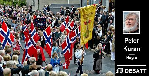 – Hvem vet om ikke det neste terrormål blir et norsk 17. mai-tog? spør Peter Kuran.