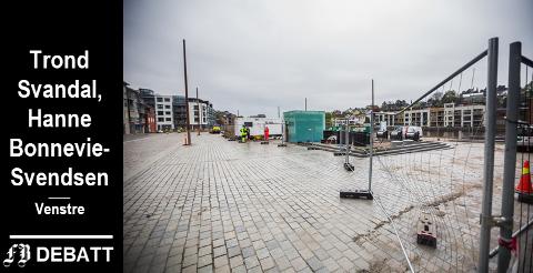 Arbeidet på Dampskipsbrygga pågår fortsatt. Nå ber Fredrikstad Venstre om at Dampskipsbrygga skal bli mer enn bare en plass, den må bli en virkelig møteplass.