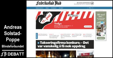 ef5c18a06 Fredriksstad Blad - Mange sliter med å lese FB – hvorfor ikke slå ...