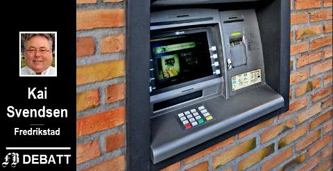 – Barn får bankkort i 12–13 års alder, slik at de kan «ta penger ut av hull i veggen» når de trenger det. Men at noen må sette noe inn på en konto, for at de kan få noe ut, lærer de ikke på den måten, mener Kai Svendsen.