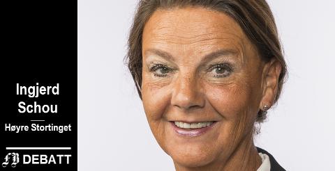 Ingjerd Schou, stortingsrepresentant, Høyre