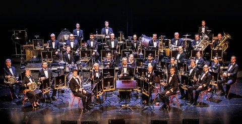 AVLYSER: Også Marinemusikken må avlyse planlagte konserter i tida som kommer, den første skulle gått av stabelen i Bakkenteigen førstkommende fredag.