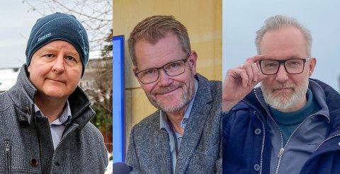 PÅGANG: Ordfører Are Karlsen, helsesjef Stein Evensen og kommuneoverlege Niels Kirkhus har alle det til felles at de får mange henvendelser fra publikum rettet til dem direkte. Ikke alle som tar kontakt er like blide.