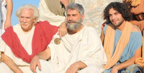 FILM: I Hellas var Tarek med som skuespilller i en historisk film.