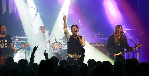 INGENTING: Rock på dialekt, bandet fra Sandes kommer til Saloonen lørdag.