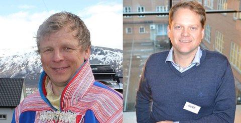Henrik Gaup og Rune Benonisen.