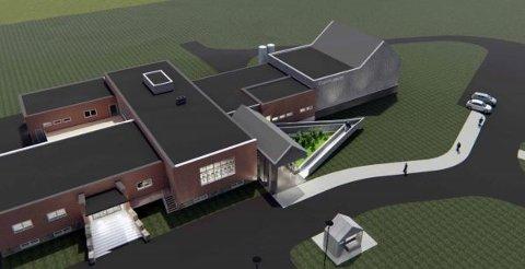 KVENMUSEUM: Det nye museet er tenkt å se slik ut.
