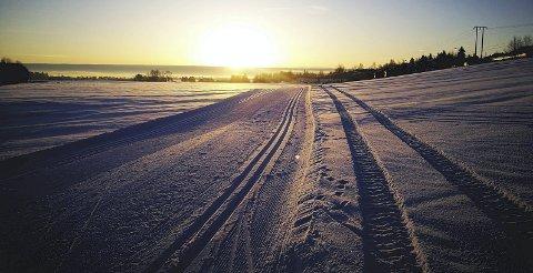 Idyllisk: Ut på tur i helgen. Foto: Kent-Ivar Sollund