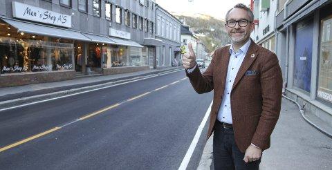 REVURDERING: Holmestrand er nå inne på lista over byer Jernia-sjef Espen Karlsen vil vurdere å etablere butikk i. FOTO: LARS IVAR HORDNES