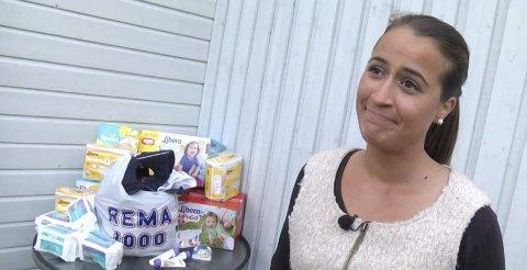 HJELP: Chanel Strand reiser til Hellas for å hjelpa flyktningar. Foto: TV-Haugaland