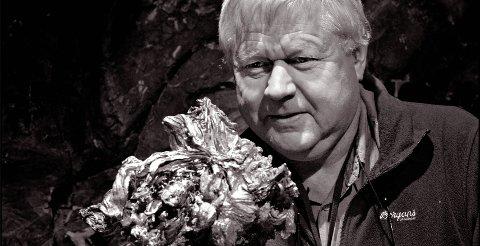 Kåre Kullerud sølvstuff  FOTO: JAN STORFOSSEN