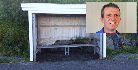 Innbytterbenkene fikk seg en trøkk under stormen i vinter og er nå oppgradert sier leder Ronny Edvardsen.