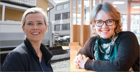 GIR SVAR: Kjersti Bjørnstad (t.v.) og Anne Bjertnæs er ikke uventet svært uenige i hvordan de politiske motstanderne karakteriserer Gjøvik kommunes kulturpolitikk.
