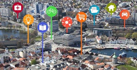 Stavanger er Smartby.