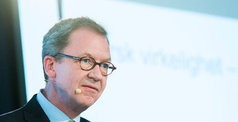 Administrerende direktør Idar Kreutzer I Finans Norge sier det igjen er tegn til at folks tror på egen økonomi er blitt styrket. Foto: Berit Roald / NTB scanpix