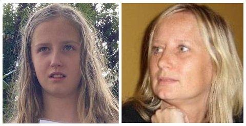 Bekreftet omkommet: Ann-Mari Olsen-Næristorp (50) og datteren Victoria Emilie Næristorp-Sørengen (13).