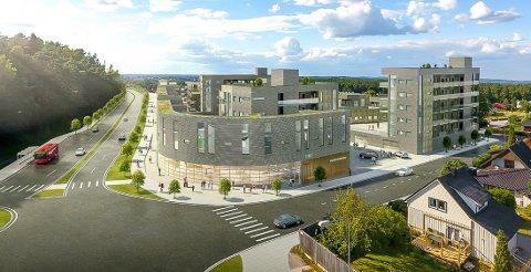 NY BYDEL: Slik ser SE arkitektur for seg at den nye bydelen på Hafslund kan bli.
