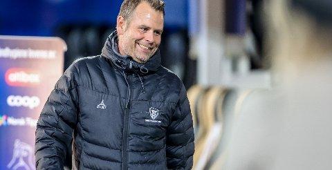KAMP: Mikael Stahre deler sin Sarpsborg 08-tropp i to i dag og spiller internkamp direkte på sa.tv. FOTO: Thomas Andersen