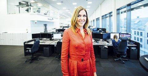Thina Margrete Saltvedt fra Nøtterøy ble kåret til verdes beste i 2013. Nå jobber hun som bærekraftsanalytiker i samme selskap.