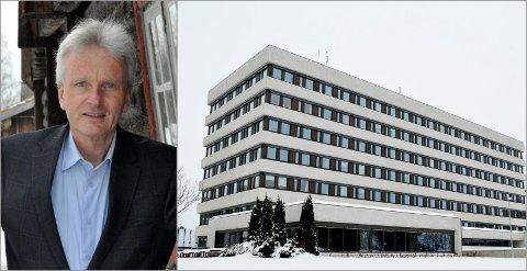 STOPPER UTBETALING: Fylkeskommunedirektør Tron Bamrud vil nå stanse utbetalingen av pendlertillegg til ansatte på hjemmekontor.