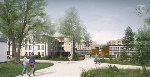 Studentby Skogveien.