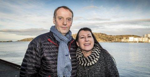 Sjefredaktør i AN, Jan-Eirik Hanssen, og tidligere regionredaktør i NRK i Nord-Norge, Tone Kunst.