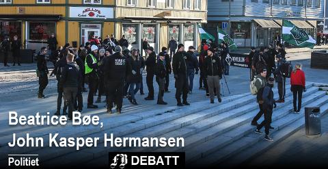–  Vi mener politiets høye og synlige beredskap i Fredrikstad og i Moss var nødvendig – også sett i ettertid, skriver politistasjonssjefene Beatrice Bøe og John Kasper Hermansen etter lørdagens markeringer.