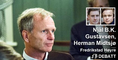 Dette er politikeren som i innlegget utpekes til Fredrikstads neste ordfører: Høyres Truls Velgaard.