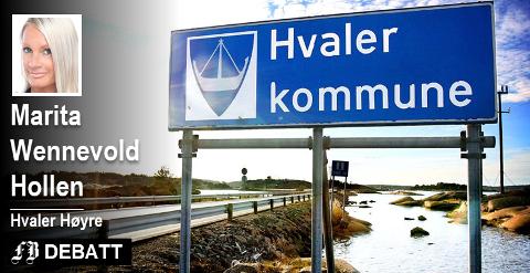 – Naturen skal ivaretas, og særpreget skal være Hvalers varemerke. Men dette hindrer ikke at man legger tilrette for å sikre kommunen ved å fokusere på nye større bedrifter og nye arbeidsplasser.