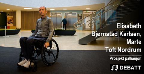 Geir Rugsveen Engen har bodd på Helsehuset, mens han og familien ønsker at han skal få bo hjemme.
