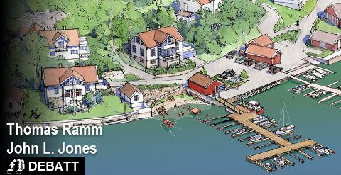 – Forslaget vi støtter utvider med 40 prosent flere plasser enn det havna har i dag, og vi støtter opp om ekstra 20 kommunale båtplasser. Denne utvidelsen skjer uten at vi ødelegger Bølingshavns flotte natur og kulturmiljø, skriver Ramm og Jones.